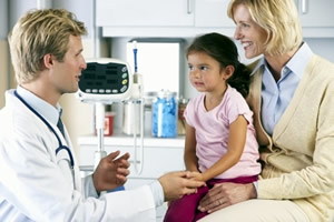 Care Homes & Health Care Sector Image-Doctor and Patient