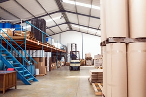 Commercial & Industrial Sector Image-Warehouse Scene