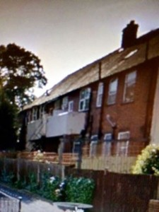 Image of the rear of a South East London Home showing fires escapes and exits