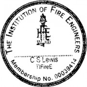 The Institute of Fire Engineers Stamp